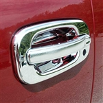 Chevrolet Silverado Chrome Door Handle Covers, 1999, 2000, 2001, 2002, 2003, 2004, 2005, 2006