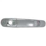 Jeep Liberty Chrome Door Handle Overlays, 2002, 2003, 2004, 2005, 2006, 2007
