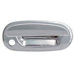 Ford Expedition Chrome Door Handle Covers with keyless entry cutout, 1997, 1998, 1999, 2000, 2001, 2002
