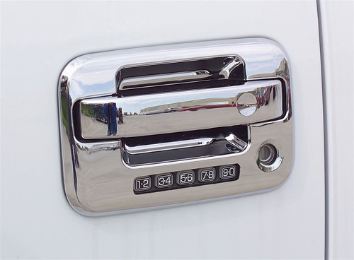 Starting ... & Ford F150 Chrome Door Handle Covers 2004 2005 2006 2007 2008 ...