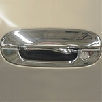 Cadillac Seville Chrome Door Handle Covers, 1998, 1999, 2000, 2001, 2002, 2003, 2004