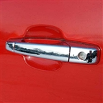 Chevrolet Avalanche Chrome Door Handle Covers, 2007, 2008, 2009, 2010, 2011, 2012, 2013
