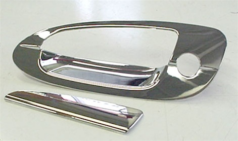Nissan Altima Chrome Door Handle Cover Trim, 2002. 200, 2004, 2005 ...