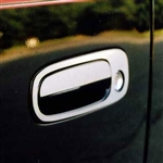 Scion xB Chrome Door Handle Covers, 2008, 2009, 2010, 2011, 2012, 2013