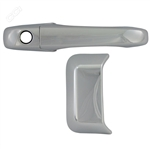 Jeep Compass Chrome Door Handle Covers, 2007, 2008, 2009, 2010, 2011, 2012, 2013, 2014, 2015, 2016