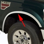 Ford Super Duty Wheel Well Fender Trim, 2008, 2009, 2010, 2011, 2012, 2013, 2014, 2015, 2016
