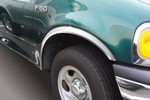 Ford F150 Full Wheel Well Fender Trim, 1987, 1988, 1989, 1990, 1991, 1992, 1993, 1994, 1995, 1996
