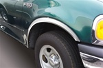 Ford F150 Flareside Full Wheel Well Fender Trim, 1997, 1998, 1999, 2000, 2001, 2002, 2003
