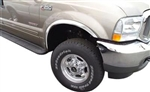 Ford Super Duty Chrome Wheel Well Fender Trim, 1999, 2000, 2001, 2002, 2003, 2004, 2005, 2006, 2007