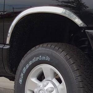 Dodge Ram 2500 3500 Chrome Wheel Well Fender Trim 2010 2011 2012 2013 2014 2015 2016 2017 2018 Shopsar Com