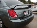 Saturn Ion Sedan Factory Match Painted Rear Spoiler / Wing (arch style), 2003, 2004, 2005, 2006, 2007