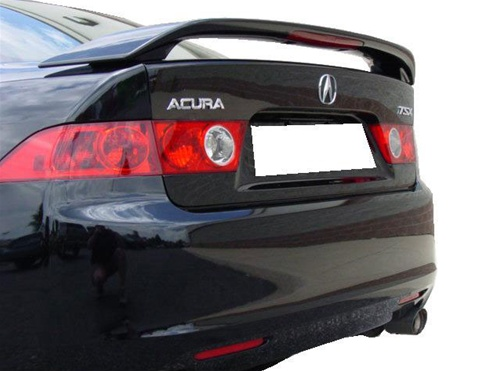 Accura tsx painted rear spoilerwing 2004 2008 accura tsx 4dr painted rear spoiler wing sciox Images