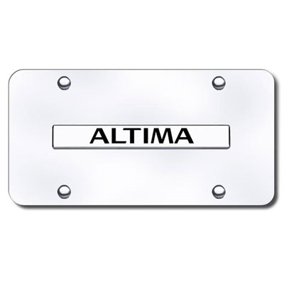 Nissan Altima Chrome License Plate Shopsar Com