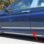 Honda Accord Sedan Chrome Side Accent Trim, 2016, 2017
