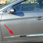 Hyundai Elantra Sedan Chrome Side Accent Trim, 2017, 2018, 2019, 2020