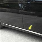 Toyota Avalon Chrome Body Side Molding Accent Trim, 2pc, 2019, 2020