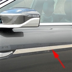 Lincoln Continental Chrome Side Molding Trim, 2017, 2018, 2019, 2020