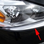 Nissan Altima Sedan Chrome Front Bumper Trim, 2013, 2014, 2015