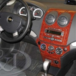 Chevrolet Aveo Wood Dash Kit