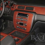 Chevrolet Avalanche Wood Dash Kit