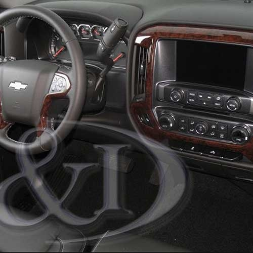 Chevrolet Silverado Wood Dash Kit