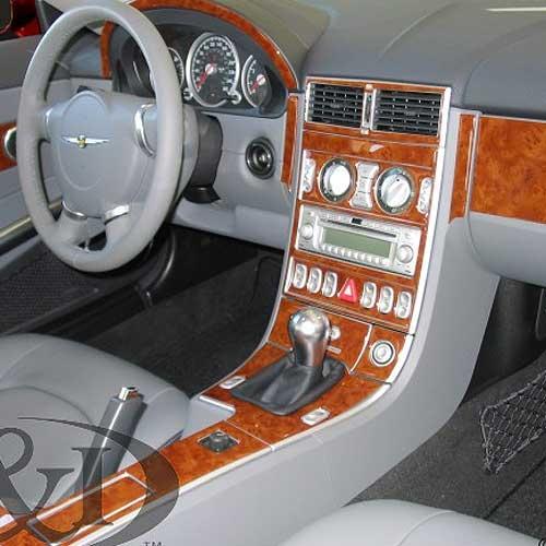 Chrysler Crossfire Wood Dash Upgrade Kit