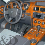Dodge Nitro Wood Dash Kit