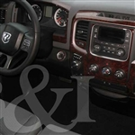 Dodge Ram Wood Dash Kit
