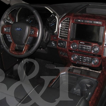 Ford F250, F350 Super Duty Wood Dash Kit