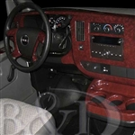 GMC Savana Wood Dash Kit