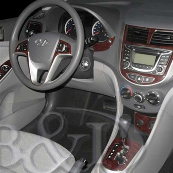 Hyundai Accent Wood Dash Kits