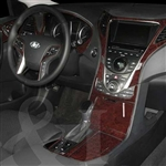 Hyundai Azera Wood Dash Kit