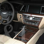 Hyundai Genesis Wood Dash Kit