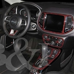Jeep Compass Wood Dash Kits