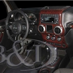Jeep Wrangler Wood Dash Kits