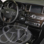 Kia Cadenza Wood Dash Kit