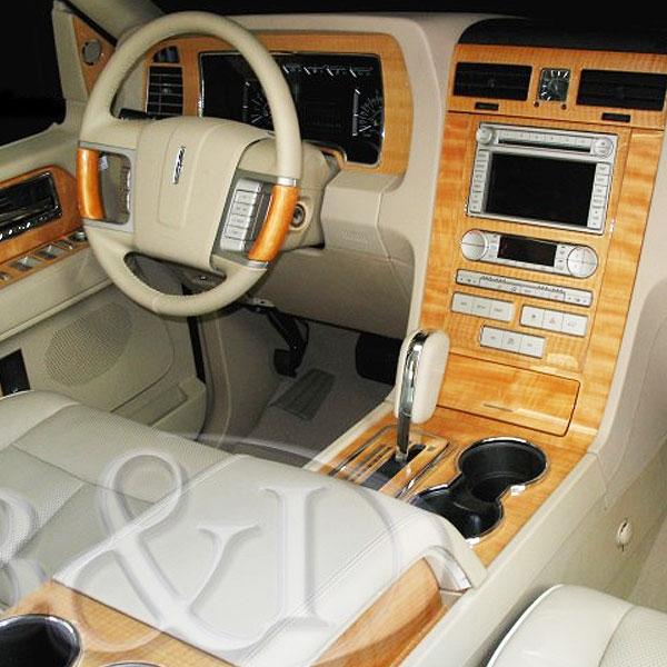 Lincoln Navigator Wood Dash Kit