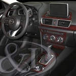 Mazda 3 Wood Dash Kit