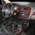 Mitsubishi Outlander Wood Dash Kits