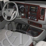 Nissan NV Wood Grain Dash Kits