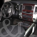 Nissan Titan Wood Grain Dash Kits