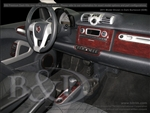 Smart Fortwo Wood Dash Kits