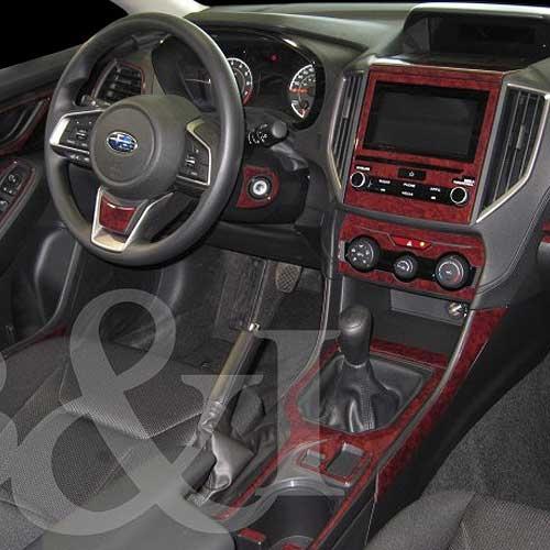 Subaru Impreza Wood Dash Kit