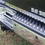 Nissan Titan Chrome Rear Bumper & Step Trim, 29pc. Set, 2004, 2005, 2006, 2007, 2008, 2009, 2010, 2011, 2012, 2013, 2014, 2015