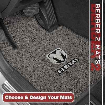 Berber 2 Custom Auto Carpet Mats