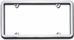 Chrome License Plate Frame