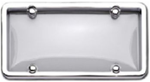 Chrome/Clear License Plate Frame Kit