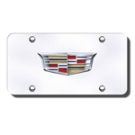 Cadillac License Plate with New Logo