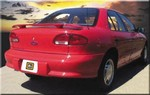 Chevrolet Cavalier Painted Rear Spoiler 1995, 1996, 1997, 1998, 1999, 2000, 2001, 2002, 2003, 2004, 2005