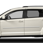 Dodge Journey Chrome Body Side Moldings, 2009, 2010, 2011, 2012, 2013, 2014, 2015, 2016, 2017, 2018, 2019, 2020